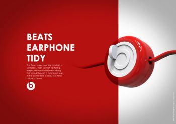 Beats Earphone Tidy