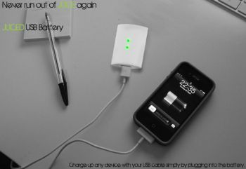 Juiced Usb Battery