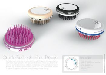 Quick Refresh Hair Brush