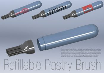 Refillable Pastry Brush