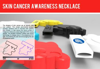 Skin Cancer Awareness Necklace