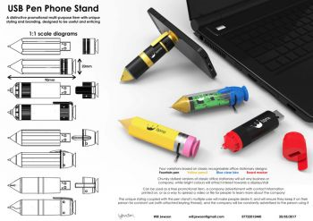 USB Pen Phone Stand
